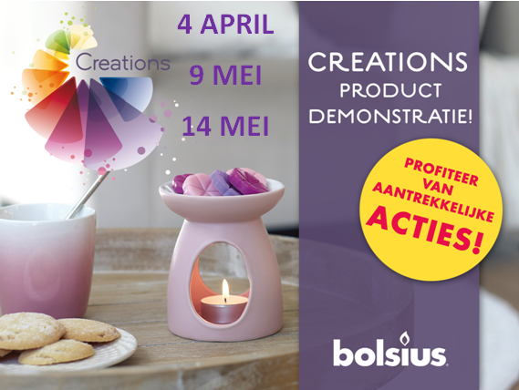 Aankondiging creations demonstraties paint